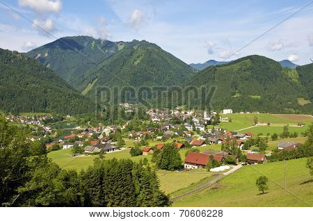 Enns Valley in Upper Austria