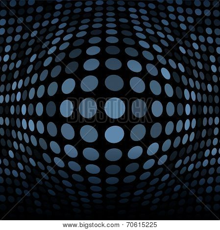 Abstract Blue Gray Technology Background