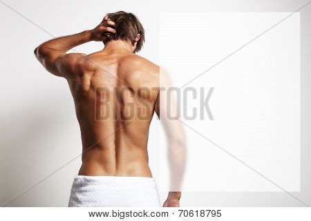 Perfect Fit Man From The Back