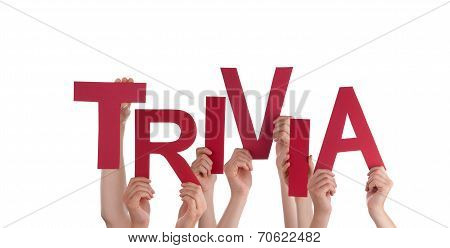 Hands Holding Trivia