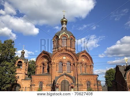 Archangel Michael church. Vladimir, Golden ring of Russia.