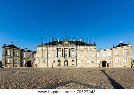 The Royal Palace Amalieborg