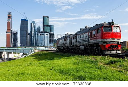 Train And The City