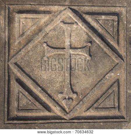 Cross In Kaunos Church