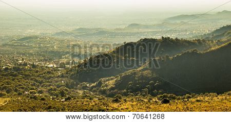 Misty Green Hills