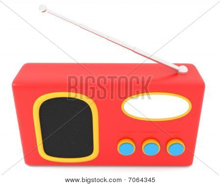 Retro-styled radio