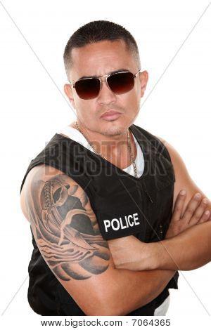 Hispanic Cop
