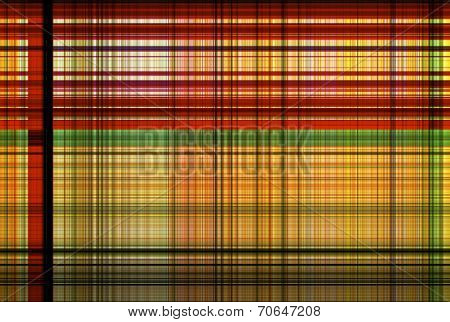 Tartan Red And Green Pattern - Plaid Clothing Table