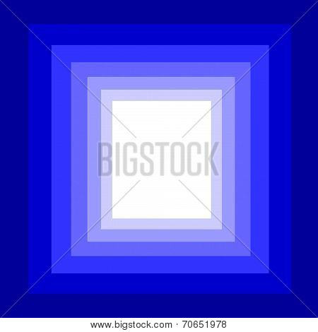 multilayer of blue square