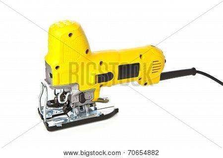 Yellow Jig saw tool