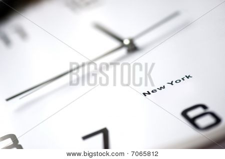 Close Up Of Clock