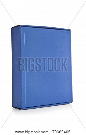 Blue Software Package Box