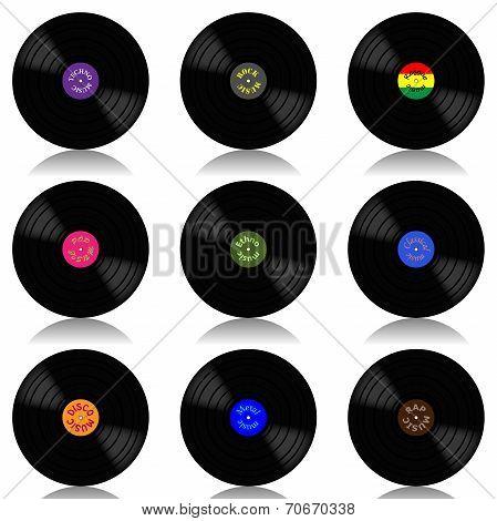 Vinyl record-LP set