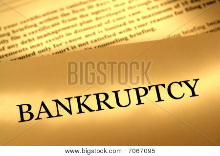 Bankruptcy Notice Letter