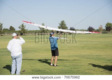 RC Sailplane Launch
