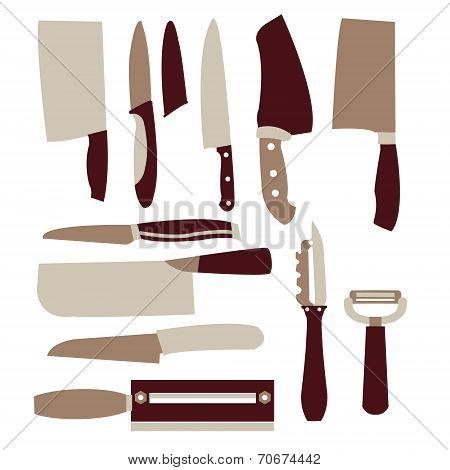 Vector Set: Kitchen Utensils Set