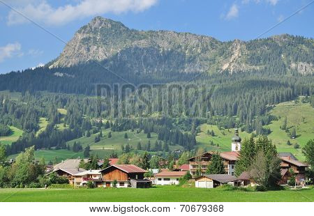 Village of Tannheim,Tannheim Valley,Tirol