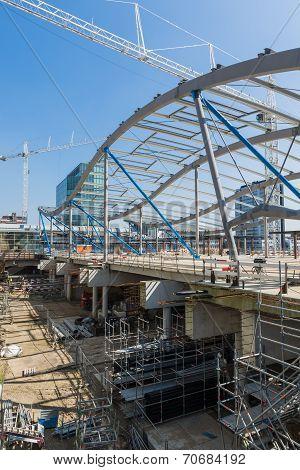 Building New Station Utrecht