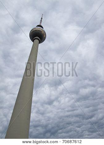 Berlin  Fernsehturm Aerial