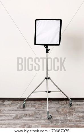 Studio flash with soft-box
