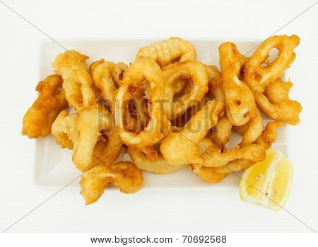 Fried Squid Rings.