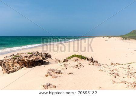 At Praia Da Varandinha, Boavista, Kapverden