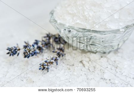 Spa, Scented Sea Salt, Selective Focus
