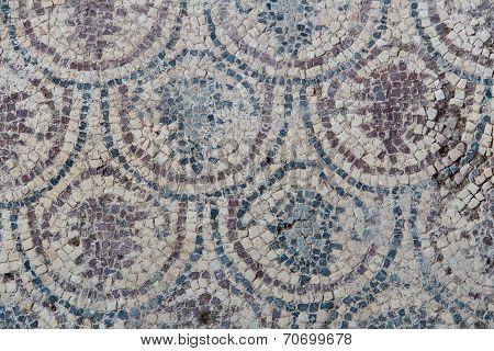 Mosaic In Kaunos Church