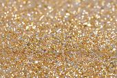 image of glitter sparkle  - Christmas New Year Gold Glitter background - JPG