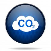 image of carbon-dioxide  - carbon dioxide internet icon - JPG
