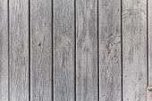 pic of gey  - The wall of wooden planks painted in white or gey - JPG