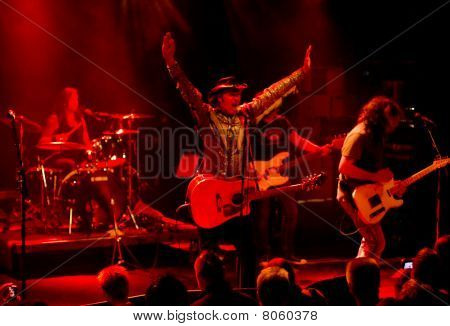 Banda de rock americana Rock/Country Jason & os Scorchers