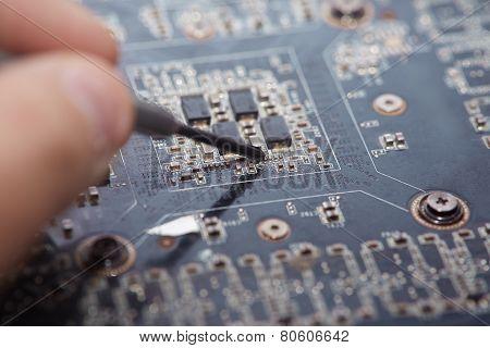 Repair Of Motherboard