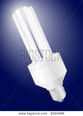 Energy Saving Light Bulb Background.eps