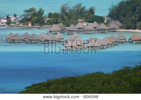 Overwater Villas in Tahiti