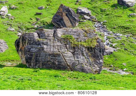 Large stone