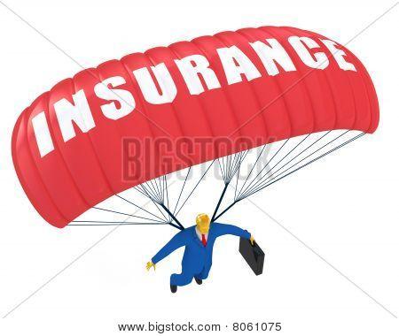 Insurance parachute