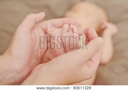 Foots In  Hands