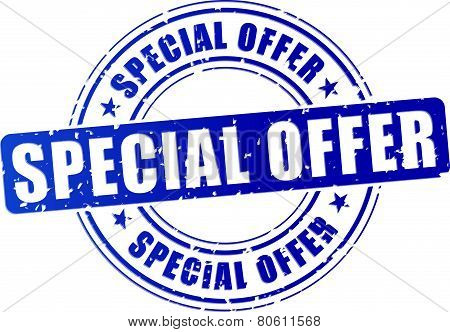 Special Offer Stamp Icon