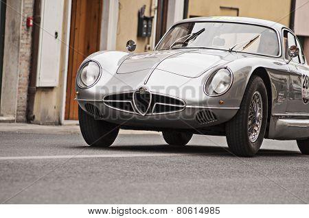 OLD CAR ALFA ROMEO mille miglia 2014