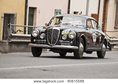 OLB CAR Lancia Aurelia B20 GT 2500 berlinetta Pinin Farina MILLE MIGLIA 2014