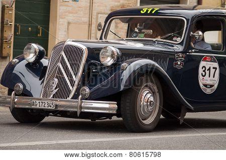 OLB CAR Citroen 15 Six 1954 MILLE MIGLIA 2014