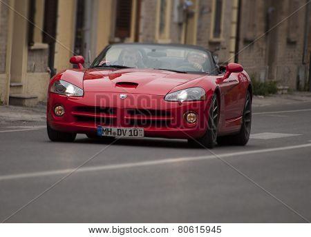 OLB CAR Dodge Viper  MILLE MIGLIA 2014