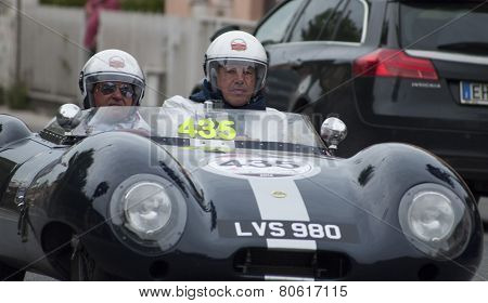 OLD CAR Lotus Eleven Climax 1957 MILLE MIGLIA 2014