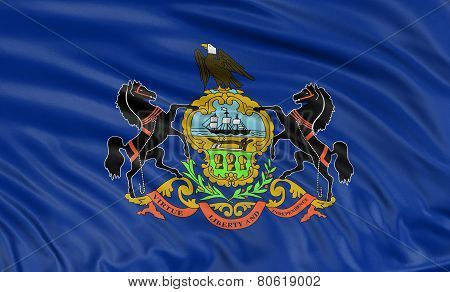 3D Pennsylvania Flag
