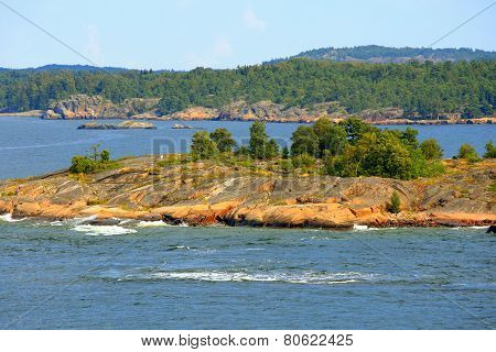 Archipelago Of Aland Islands.