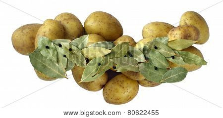Potatoes With Laurel.