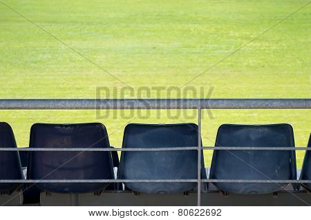 Stadium Without Spectators