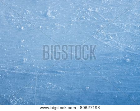 Ice Blue With Chaotic Patterns