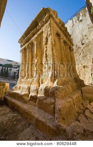 Tomb Of The  Zechariah